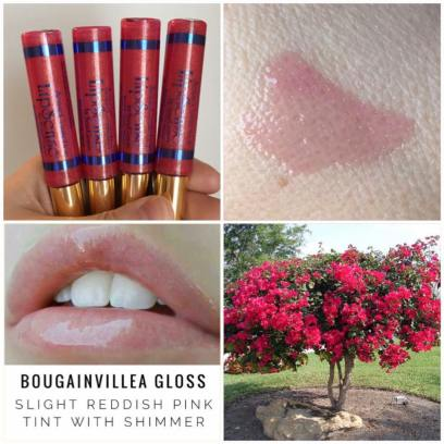 Bougainvillea Gloss Collage