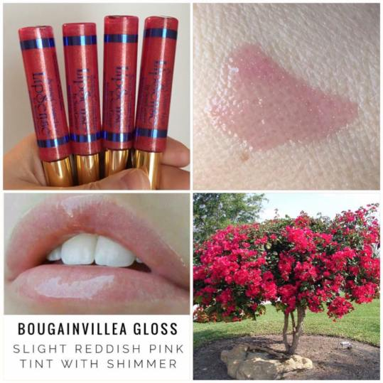 Bougainvillea Gloss Collage