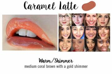 ALTHOUGH DESCRIBED AS A CORAL BROWN, CARAMEL LATTE IS TRULY MORE OF A PINK WITH BROWN AND CORAL UNDERTONES. ONE OF MY FAVORITE COLORS!