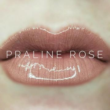 PRALINE ROSE HAS A BROWN/BEIGE HUE ON DARKER SKIN TONES, BUT STILL HAS MORE MAUVE THAN THIS ON MOST PEOPLE