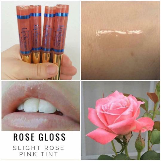 Rose Gloss Collage