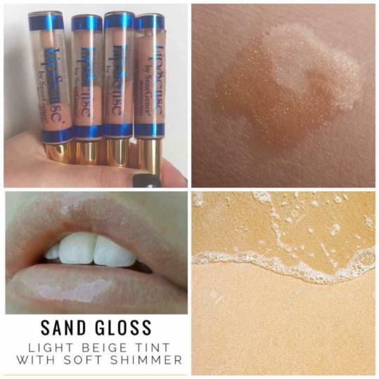 Sand Gloss Collage